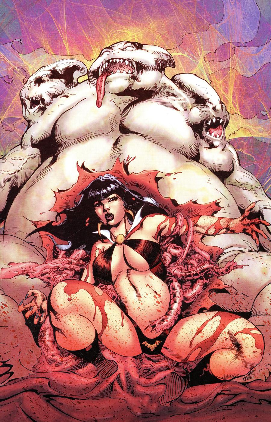Vampirella Vol 8 #20 Cover M Incentive Roberto Castro Virgin Cover