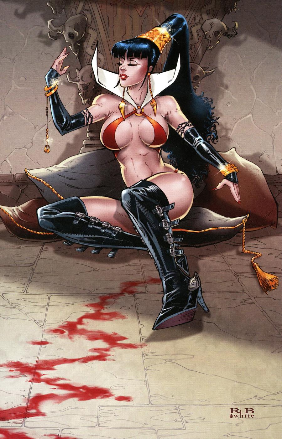 Vampirella Vol 8 #20 Cover O Incentive RB White Virgin Cover