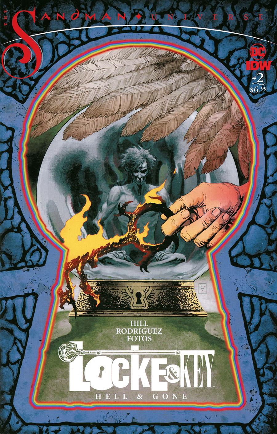 Locke & Key Sandman Hell & Gone #2 Cover B Variant JH Williams III Cover