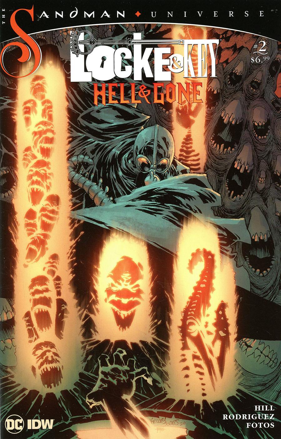 Locke & Key Sandman Hell & Gone #2 Cover C Variant Kelley Jones & Jay Fotos Cover