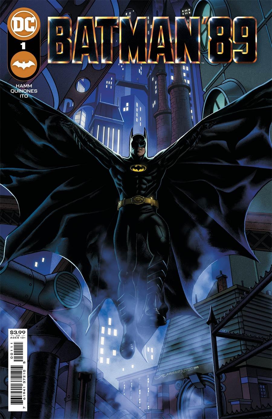 Batman 89 #1 Cover A Regular Joe Quinones Cover