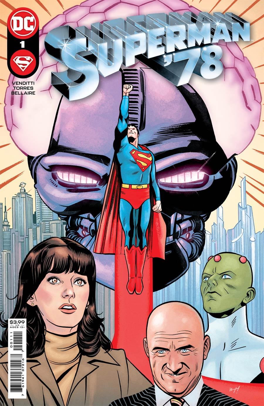 Superman 78 #1 Cover A Regular Wilfredo Torres Cover