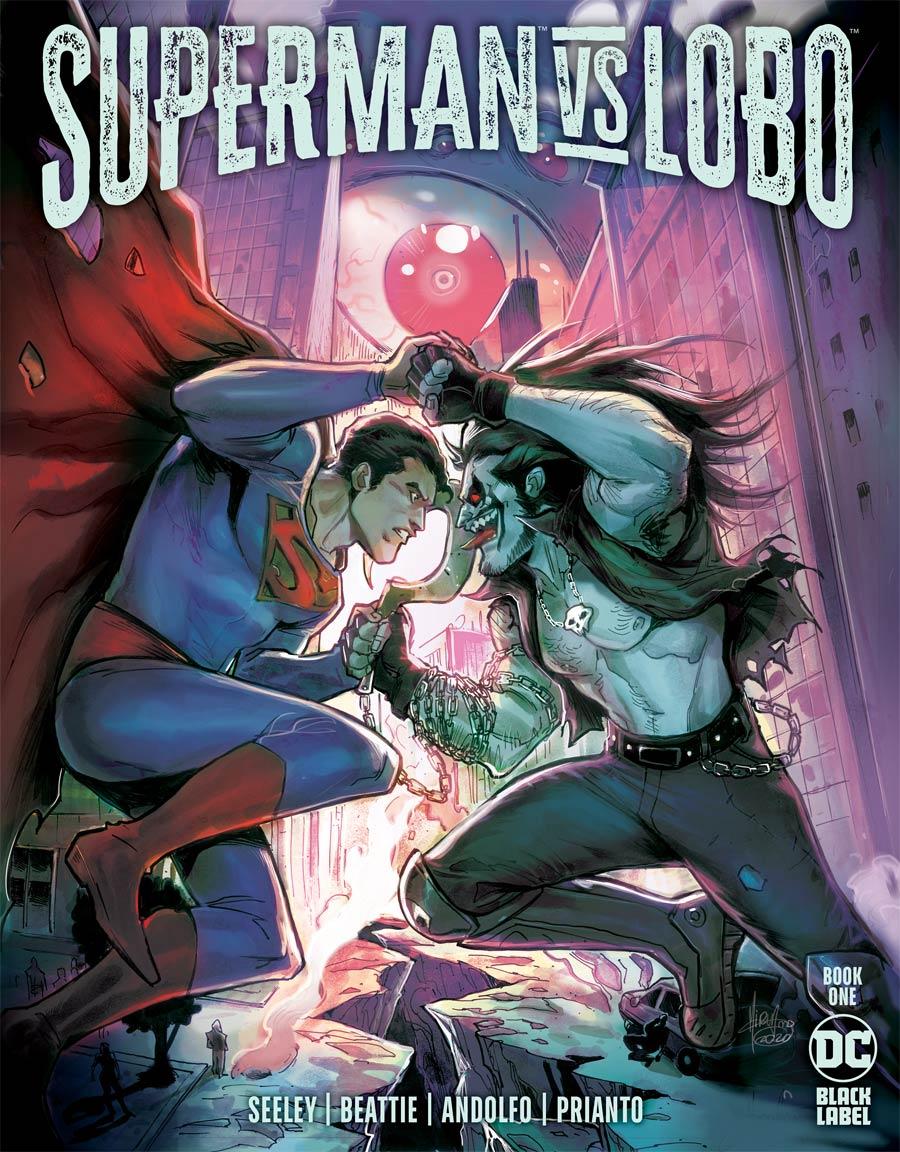 Superman vs Lobo #1 Cover A Regular Mirka Andolfo Cover