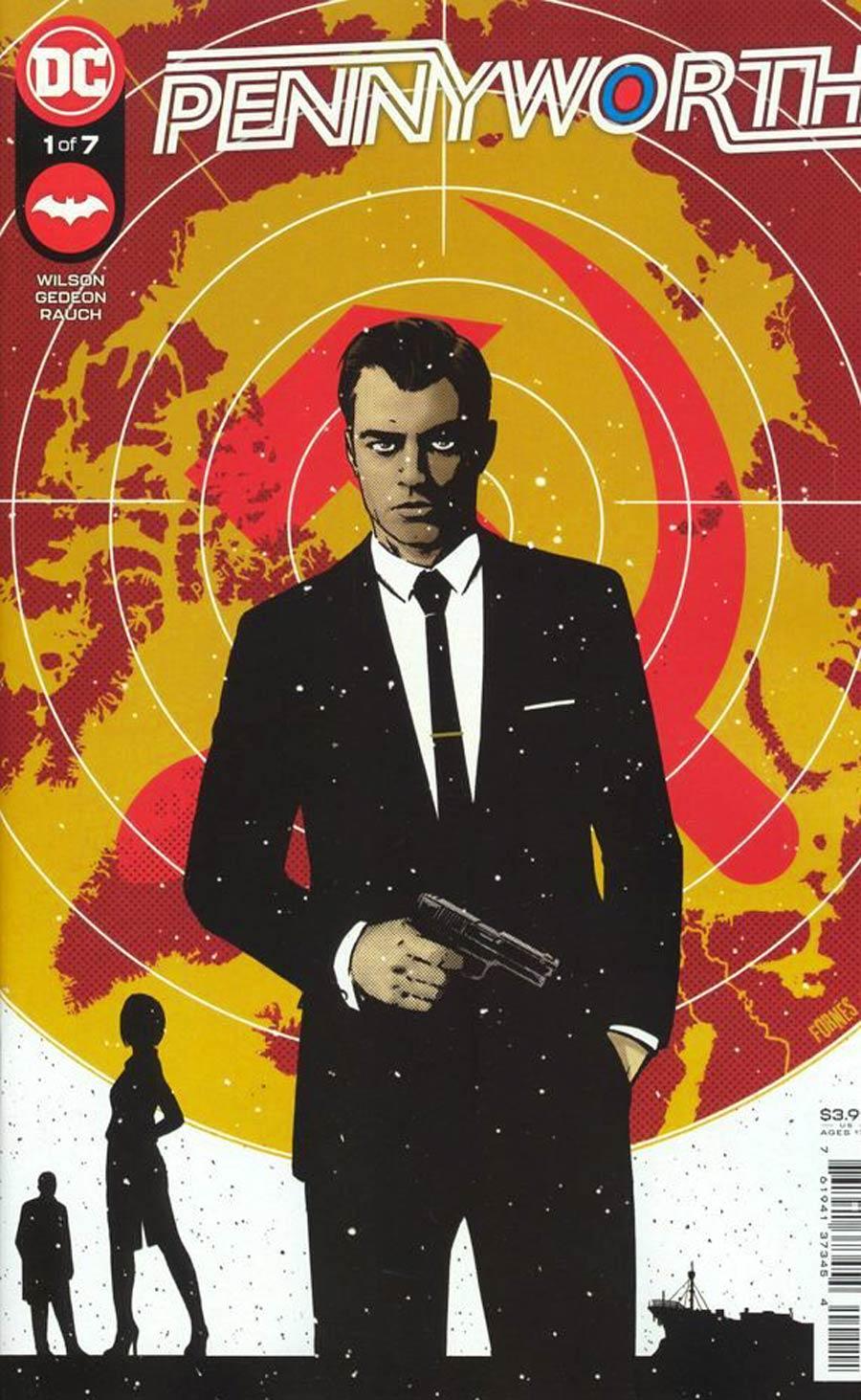 Pennyworth #1 Cover A Regular Jorge Fornes Cover
