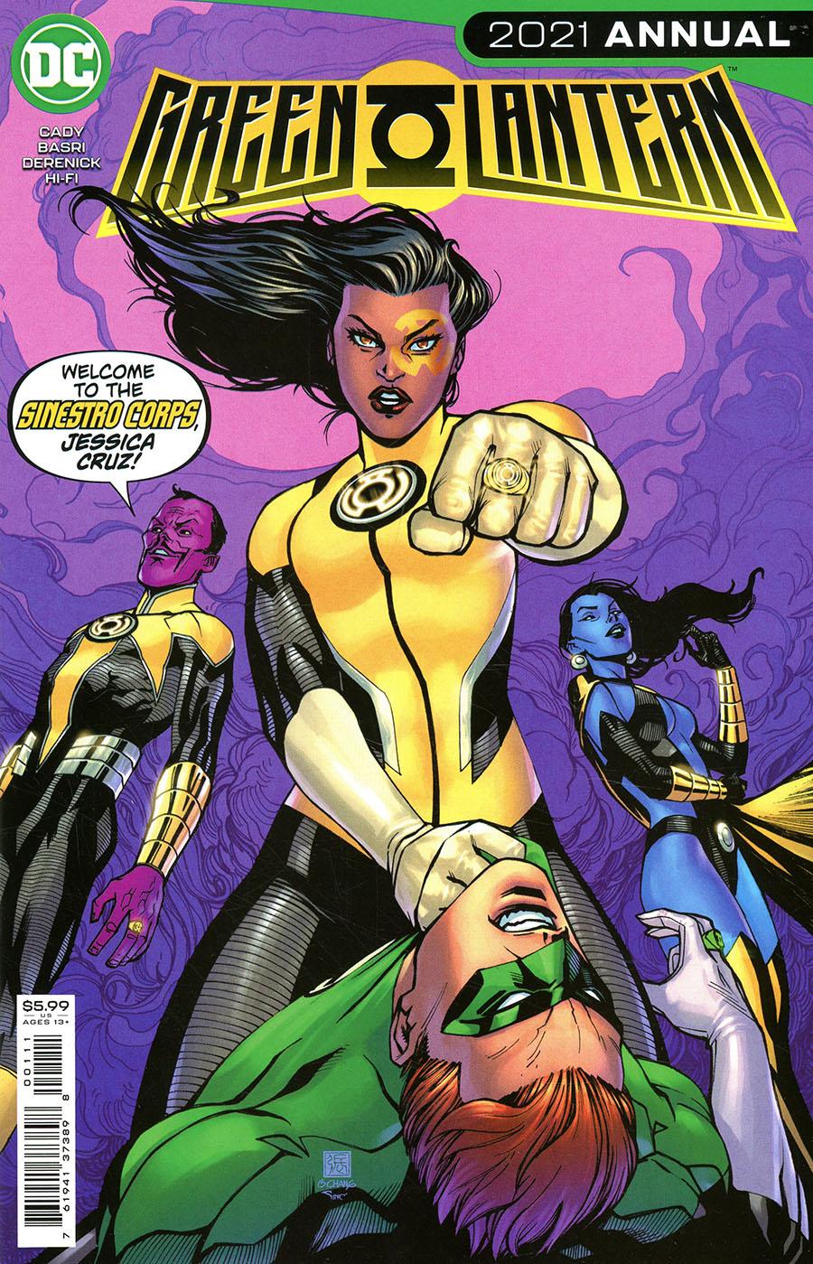 Green Lantern Vol 7 2021 Annual #1 Cover A Regular Bernard Chang Cover