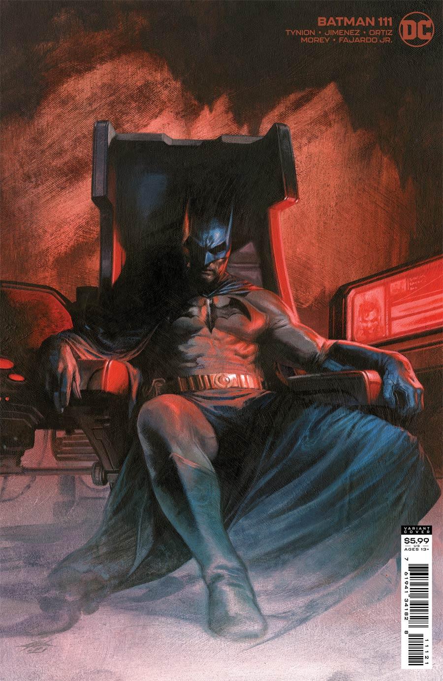 Batman Vol 3 #111 Cover B Variant Gabriele Dell Otto Card Stock Cover