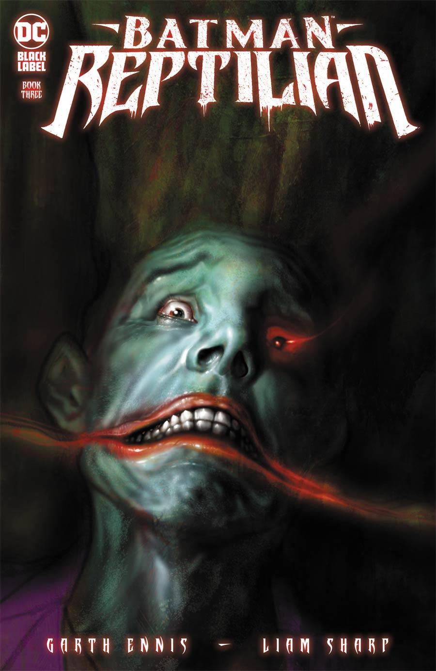 Batman Reptilian #3 Cover A Regular Liam Sharp Cover