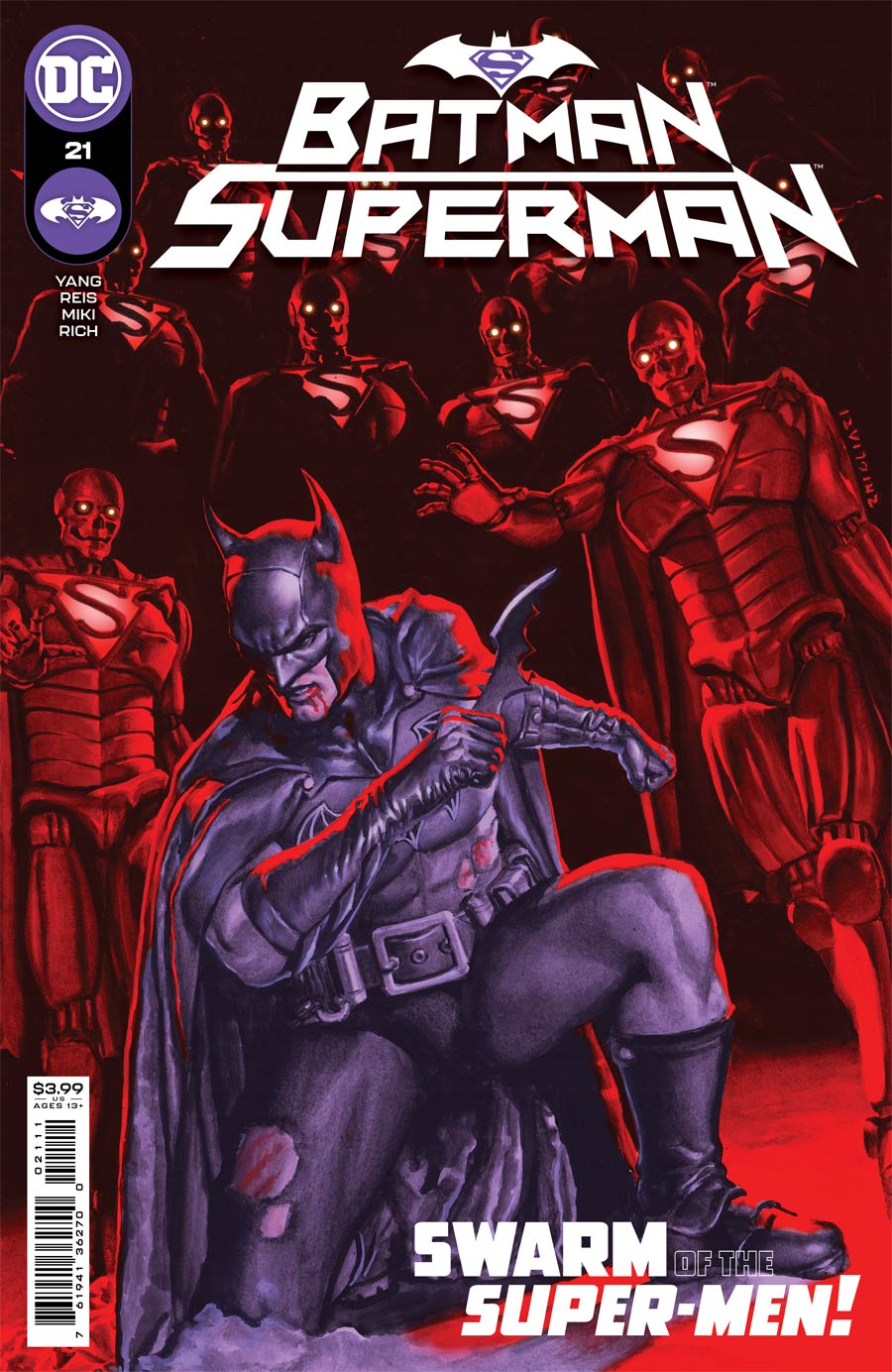 Batman Superman Vol 2 #21 Cover A Regular Rodolfo Migliari Cover