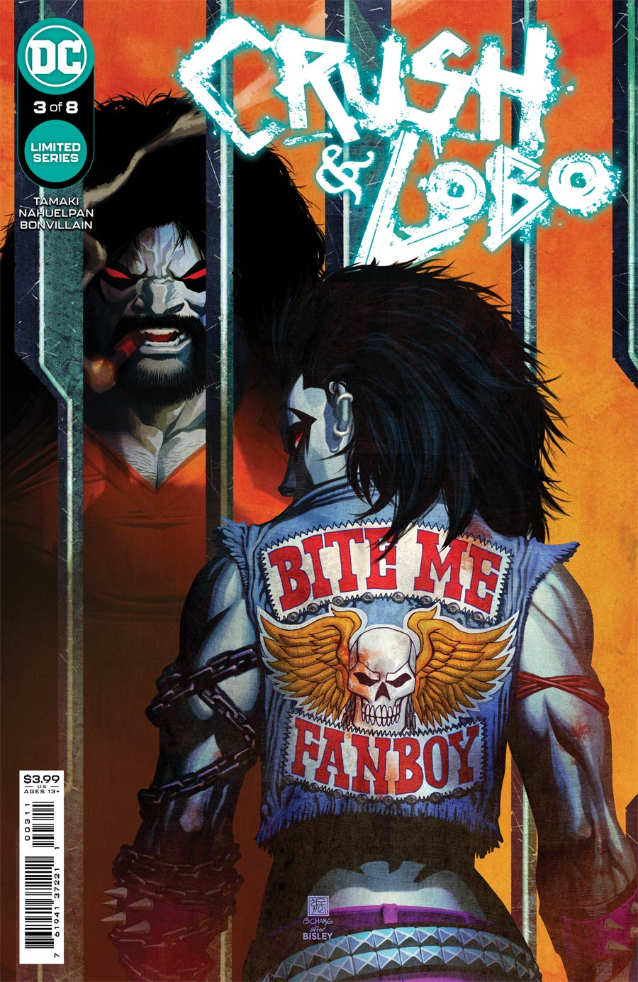 Crush & Lobo #3 Cover A Regular Bernard Chang Cover
