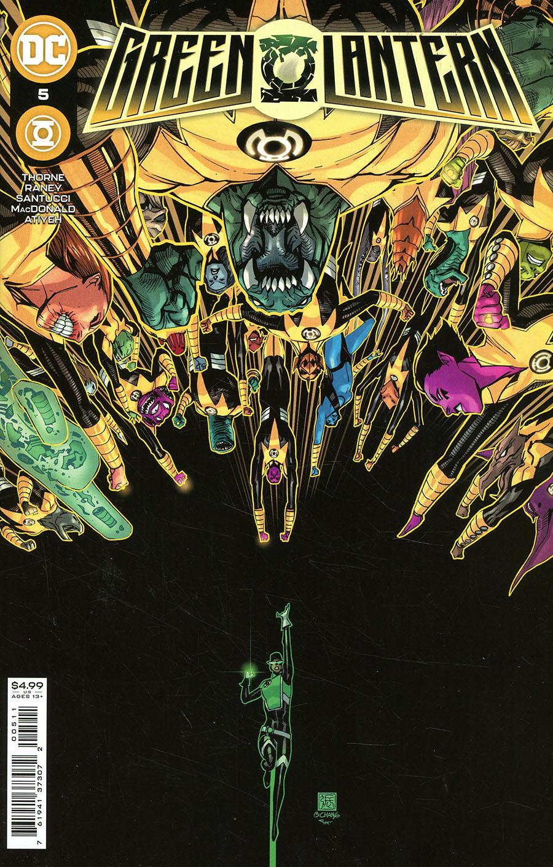 Green Lantern Vol 7 #5 Cover A Regular Bernard Chang Cover