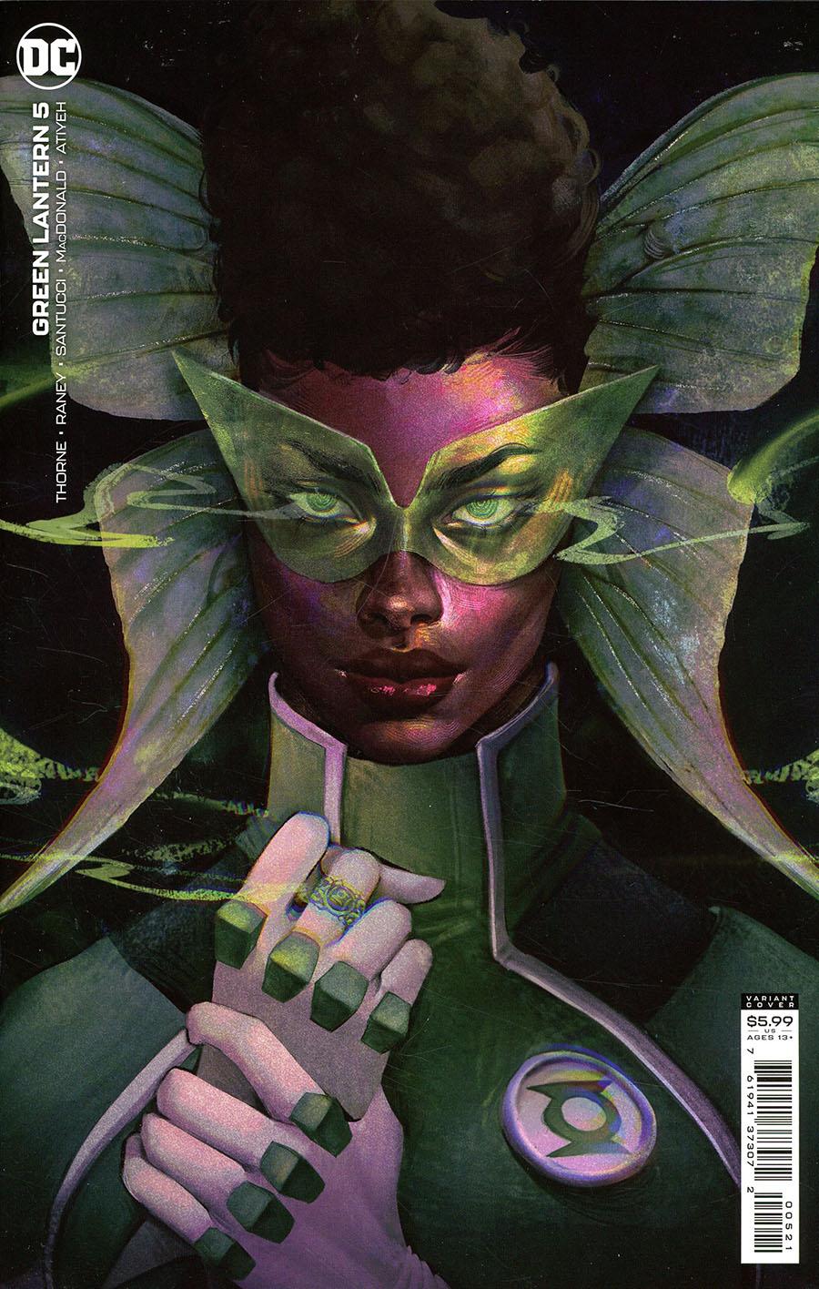Green Lantern Vol 7 #5 Cover B Variant Juliet Nneka Card Stock Cover