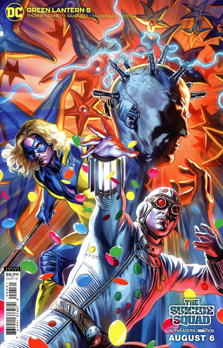 Green Lantern Vol 7 #5 Cover C Variant Felipe Massafera The Suicide Squad Movie Card Stock Cover