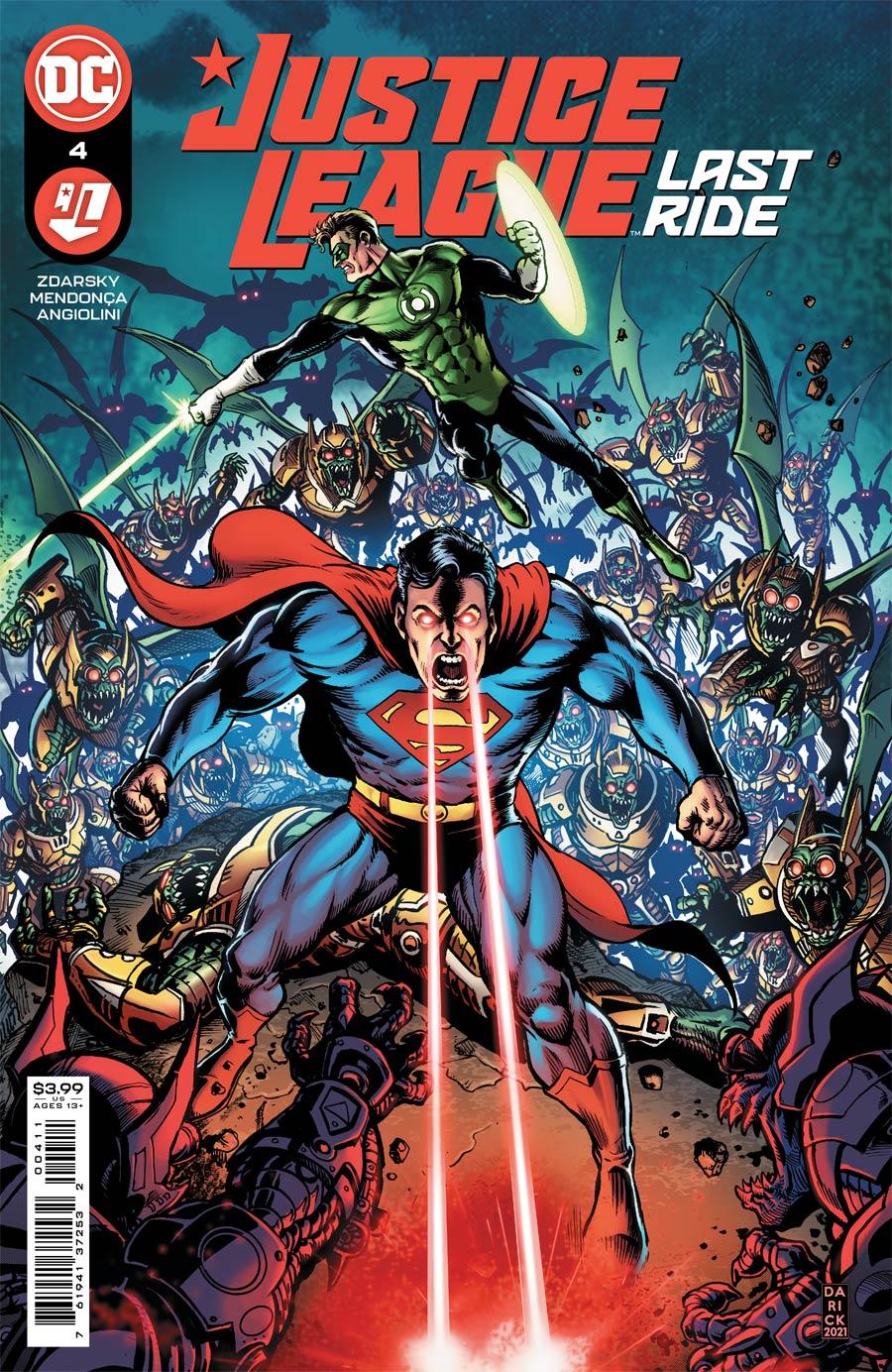 Justice League Last Ride #4 Cover A Regular Darick Robertson Cover