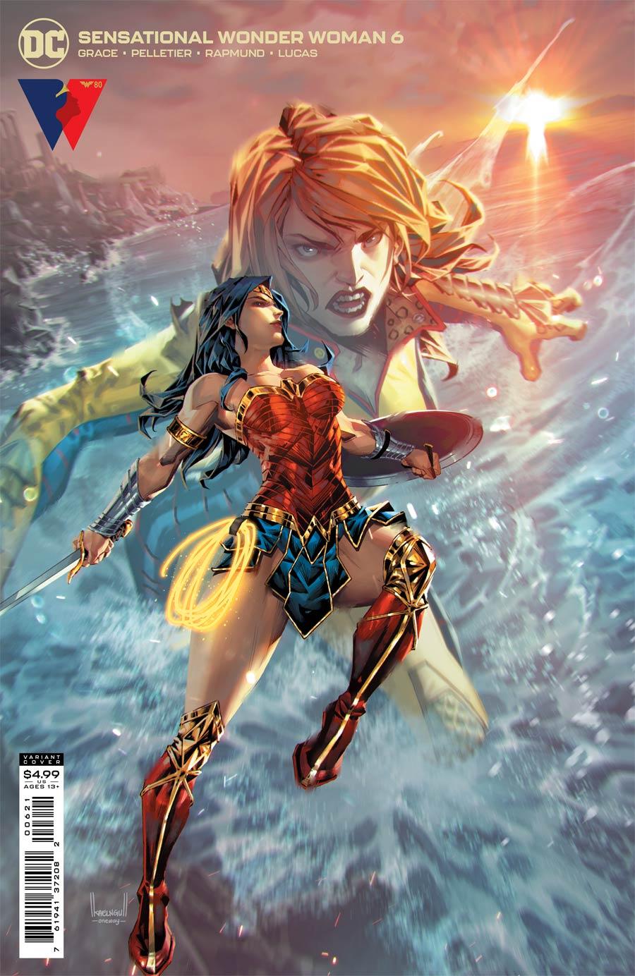 Sensational Wonder Woman #6 Cover B Variant Kael Ngu Card Stock Cover