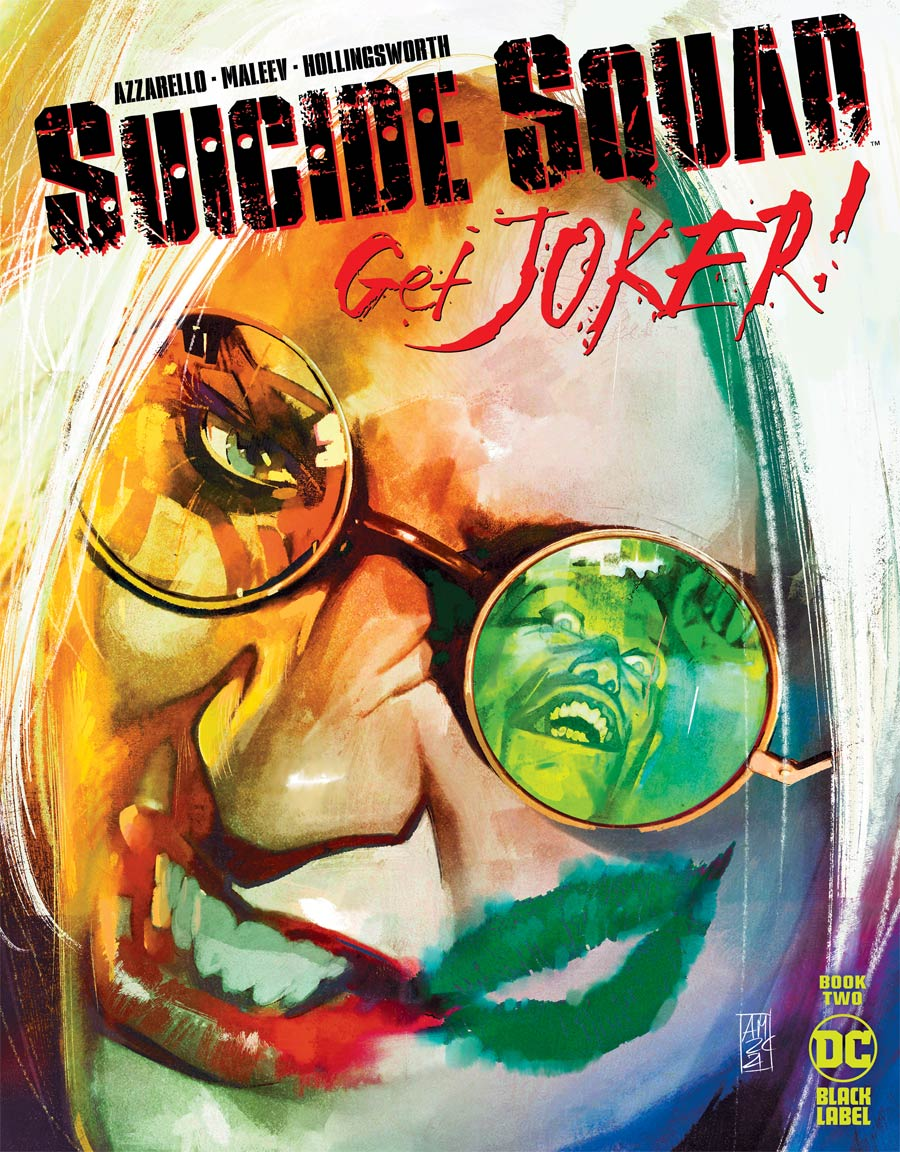 Suicide Squad Get Joker #2 Cover A Regular Alex Maleev Cover