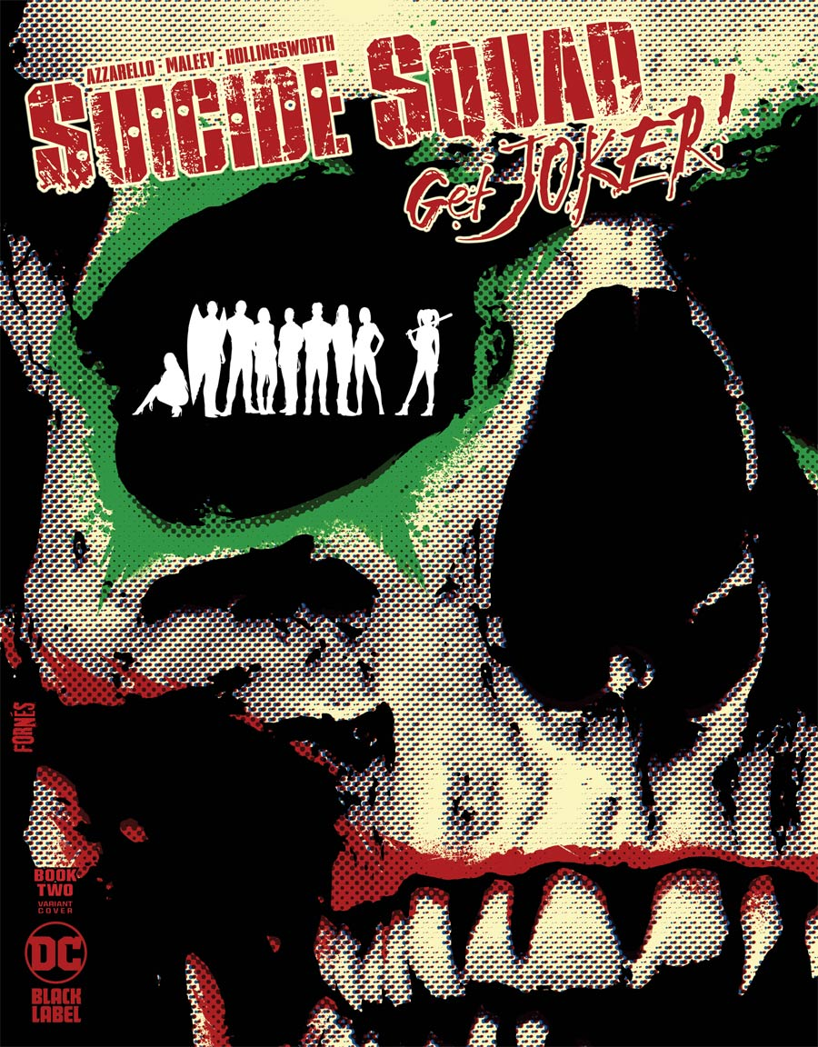 Suicide Squad Get Joker #2 Cover B Variant Jorge Fornes Cover