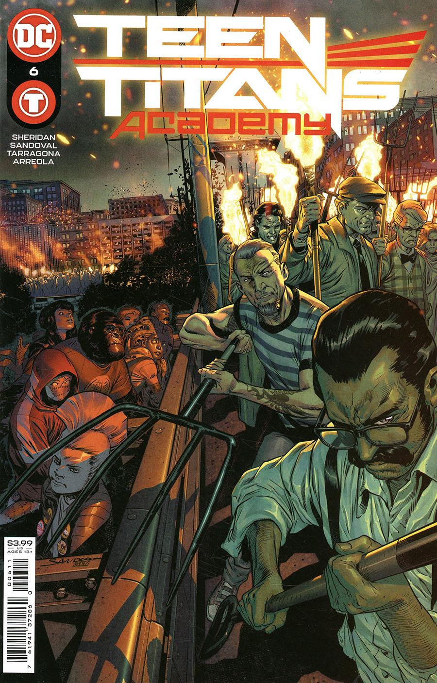 Teen Titans Academy #6 Cover A Regular Rafa Sandoval Cover
