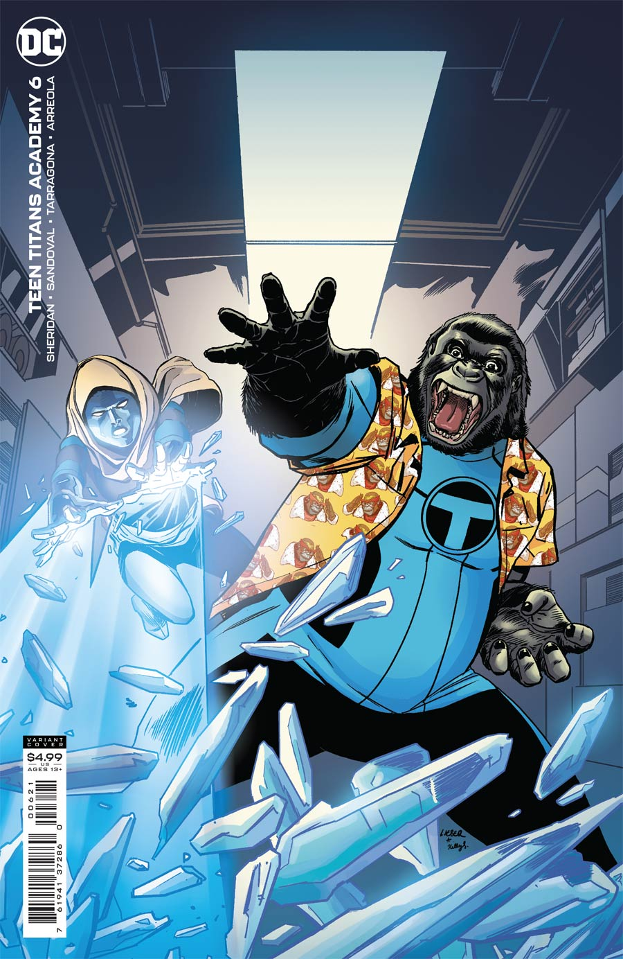 Teen Titans Academy #6 Cover B Variant Steve Lieber Card Stock Cover