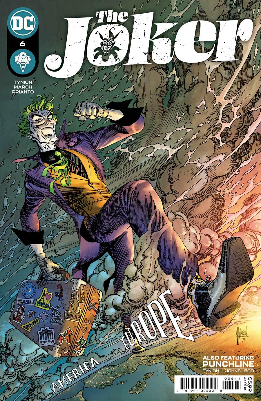 Joker Vol 2 #6 Cover A Regular Guillem March Cover