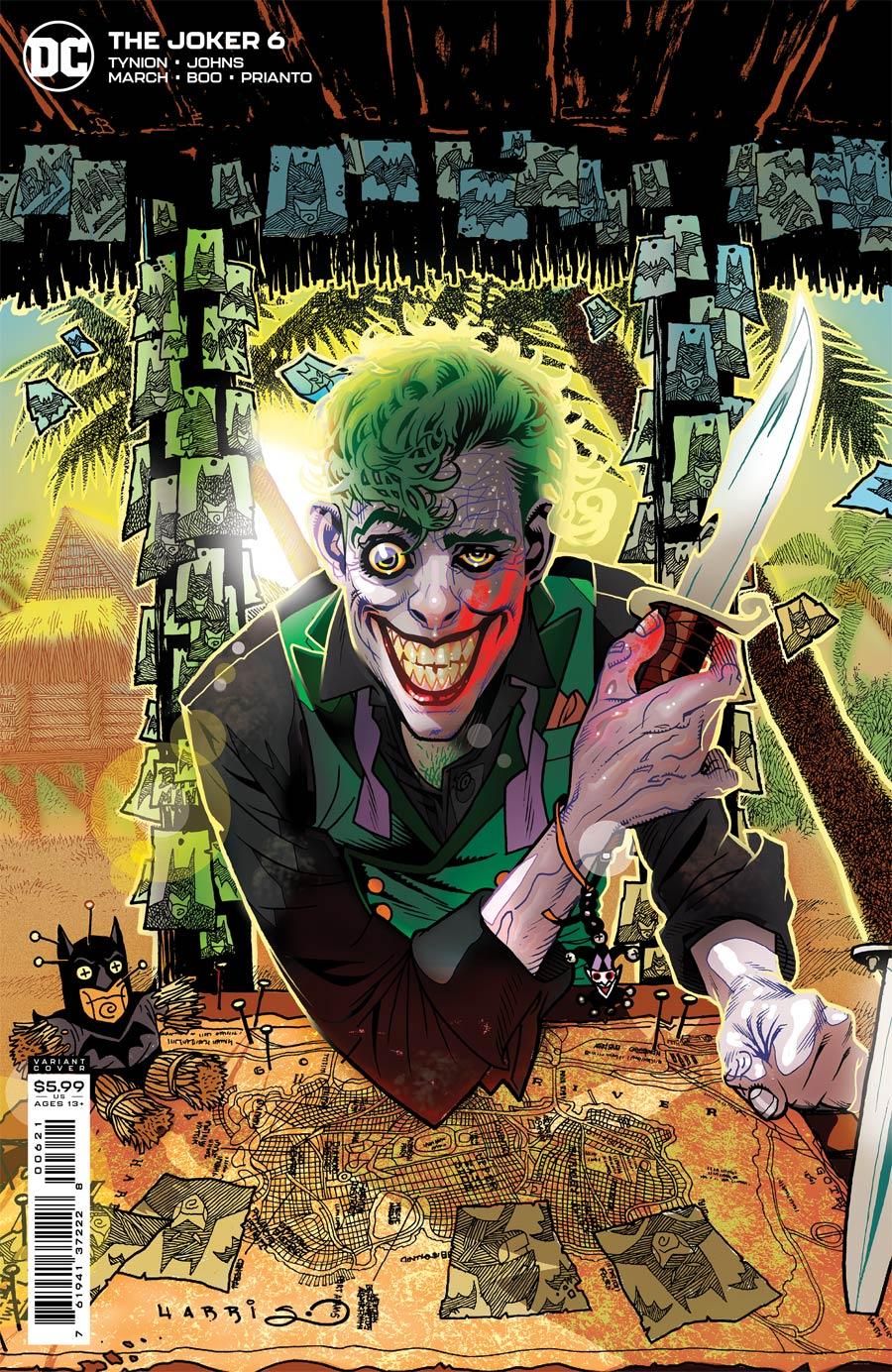 Joker Vol 2 #6 Cover B Variant Tony Harris Cover