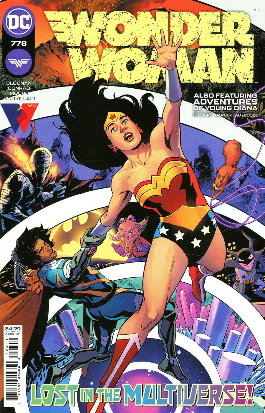 Wonder Woman Vol 5 #778 Cover A Regular Travis Moore Cover