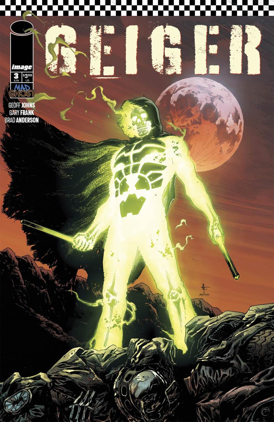 Geiger #3 Cover D Variant Gary Frank Cover