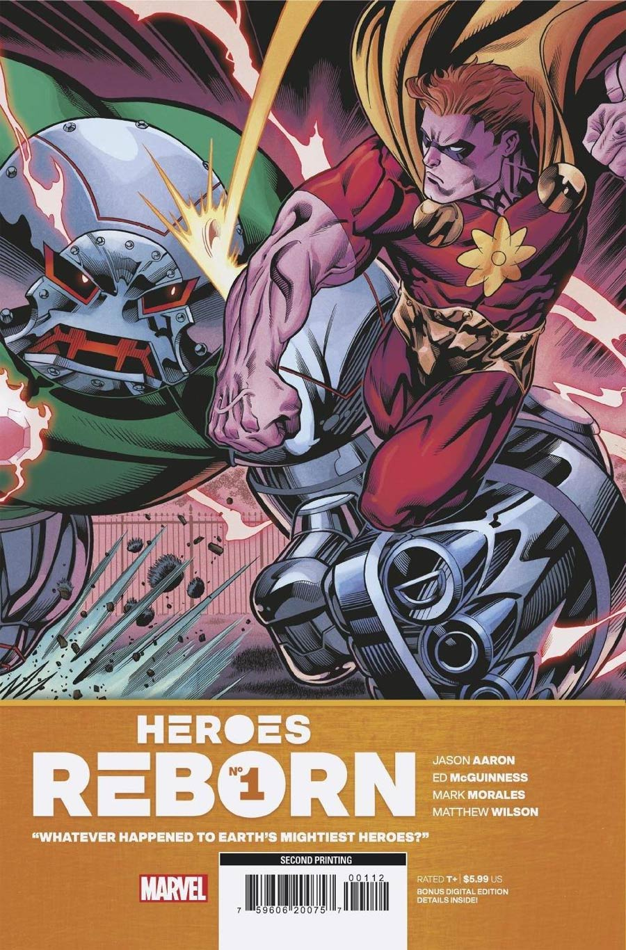 Heroes Reborn #1 Cover Q 2nd Ptg Ed McGuinness Variant Cover