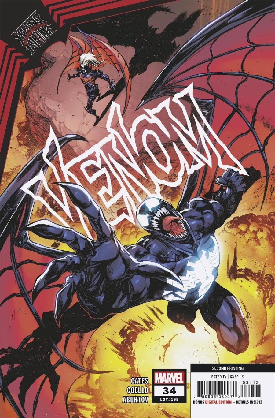 Venom Vol 4 #34 Cover G 2nd Ptg Iban Coello Variant Cover (King In Black Tie-In)