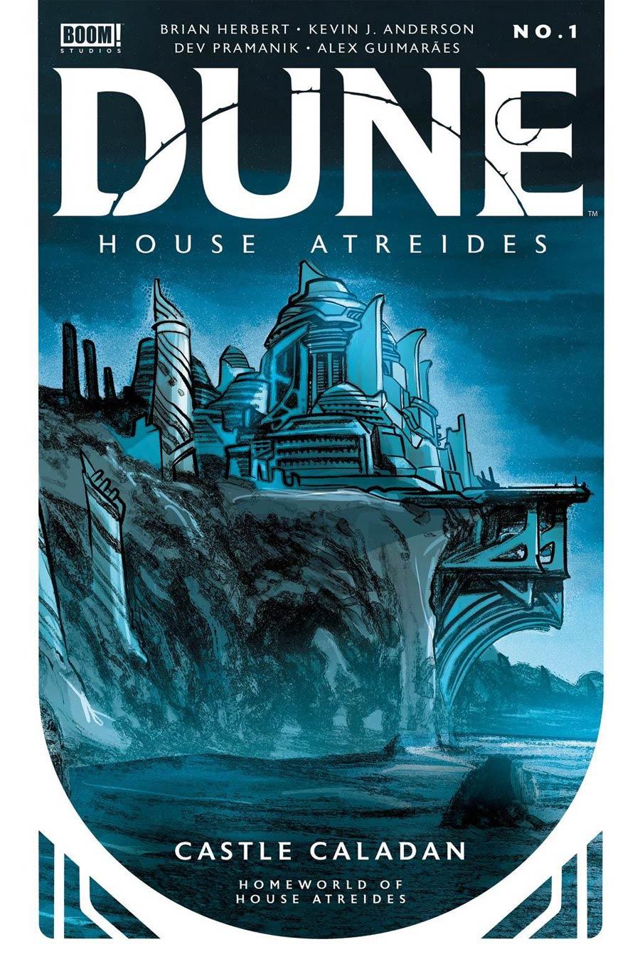 Dune House Atreides #1 Cover L 4th Ptg Dev Pramanik Variant Cover