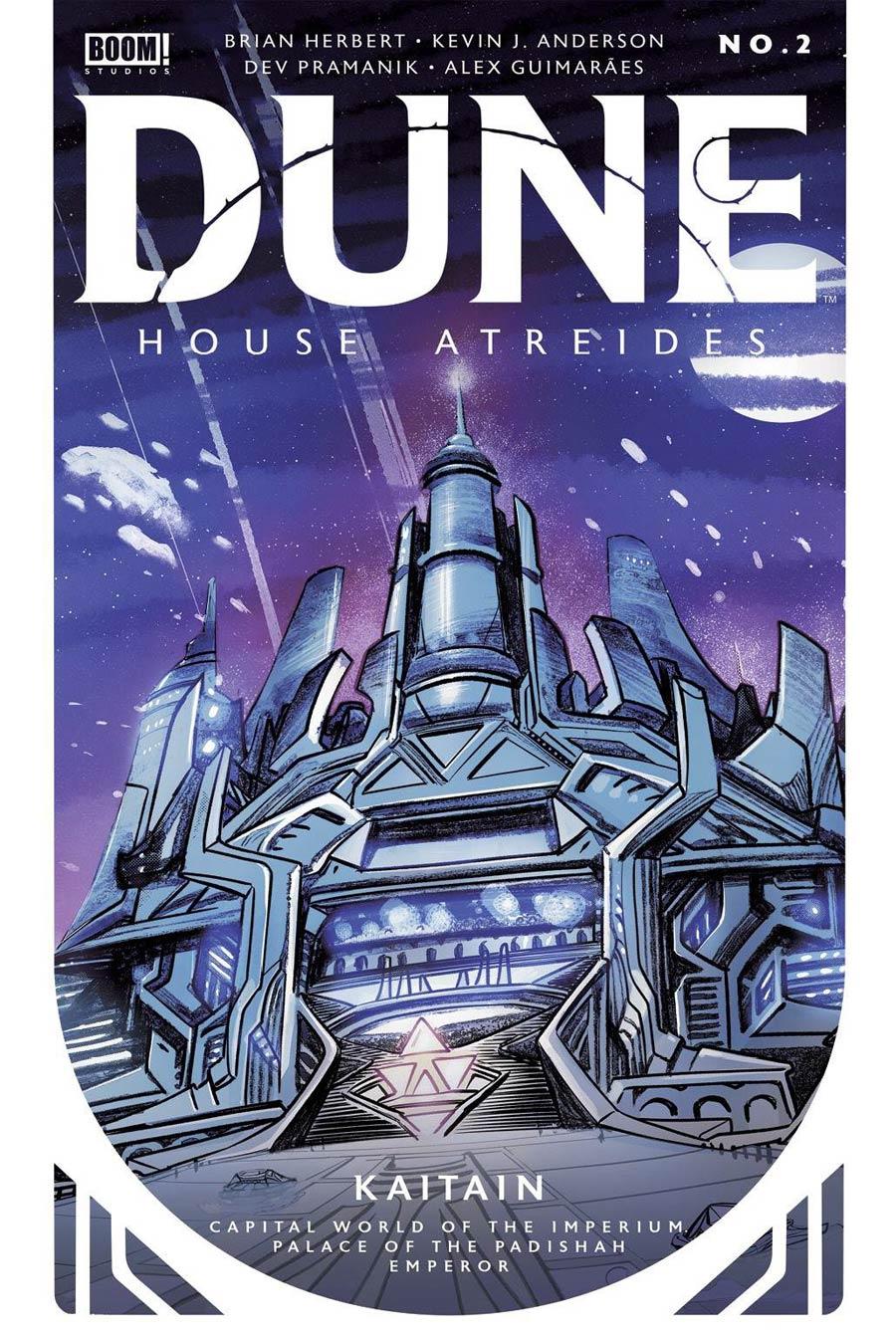 Dune House Atreides #2 Cover G 3rd Ptg Dev Pramanik Variant Cover