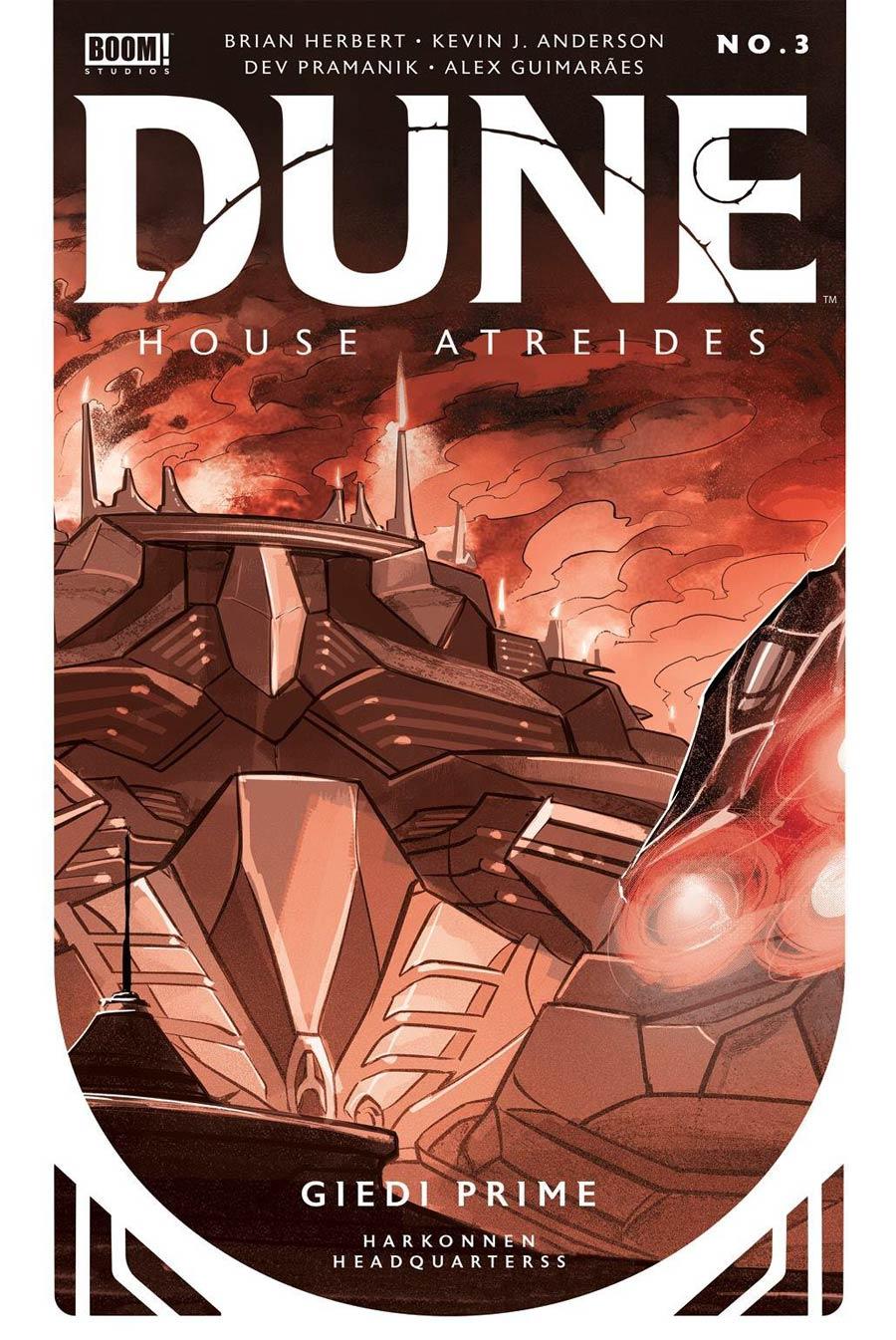 Dune House Atreides #3 Cover E 2nd Ptg Dev Pramanik Variant Cover