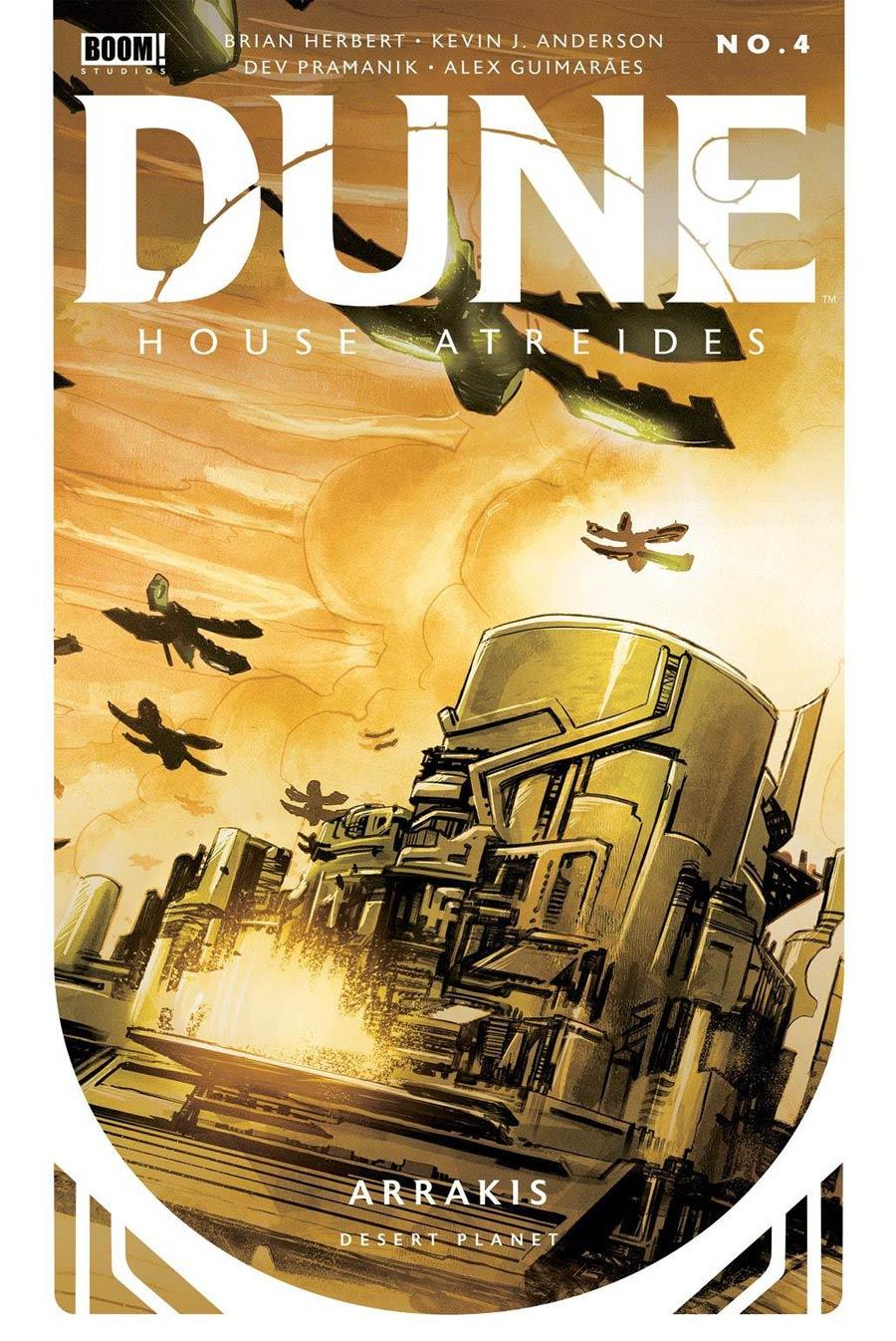 Dune House Atreides #4 Cover E 2nd Ptg Dev Pramanik Variant Cover