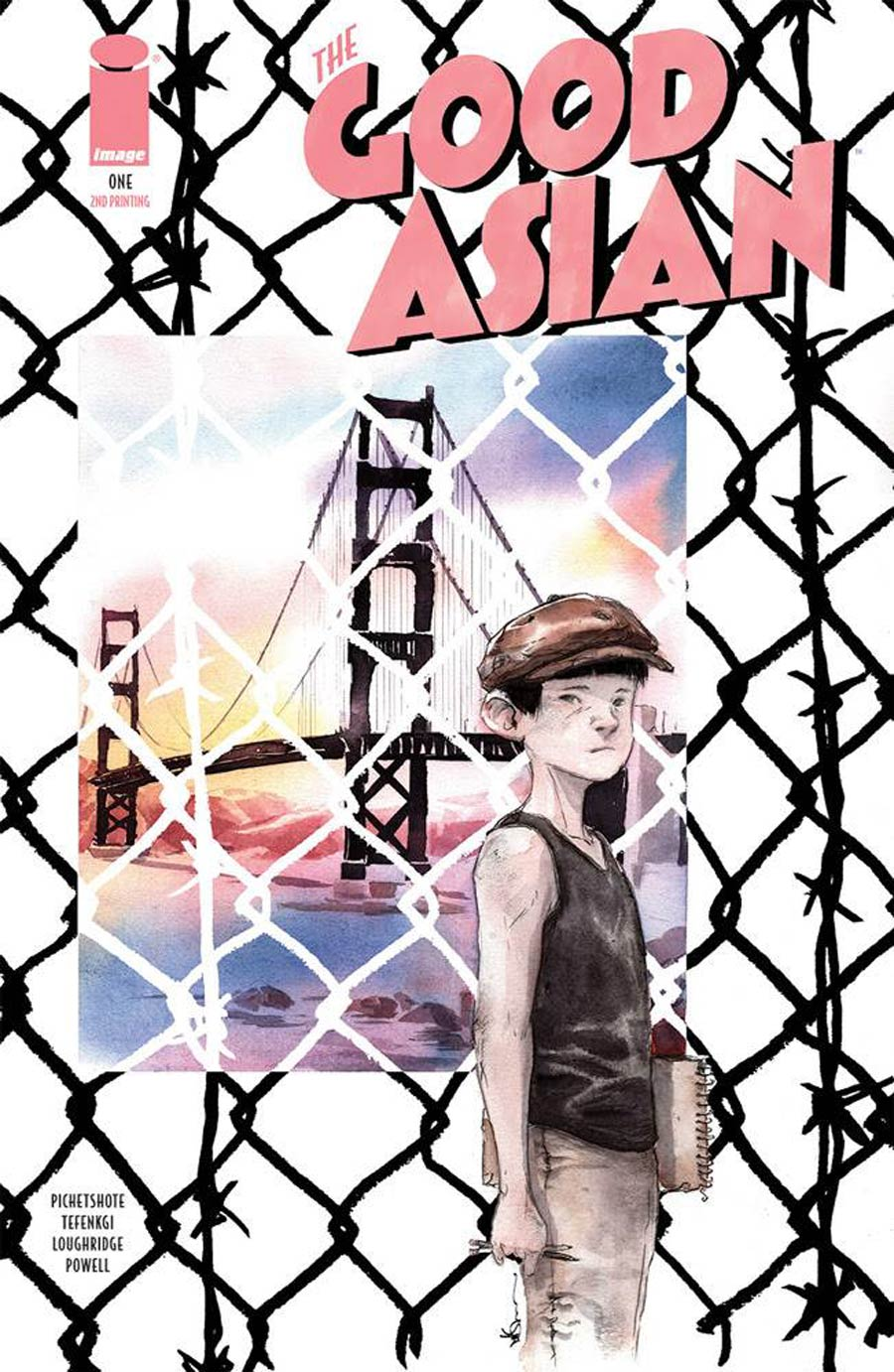 Good Asian #1 Cover C 2nd Ptg