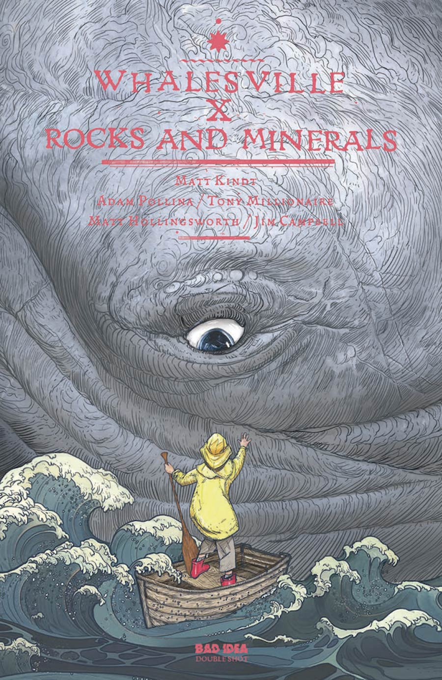 Whalesville x Rocks and Minerals #1 (One Shot) Cover B Not First Printing (Red Logo)(Limit 1 Per Customer)