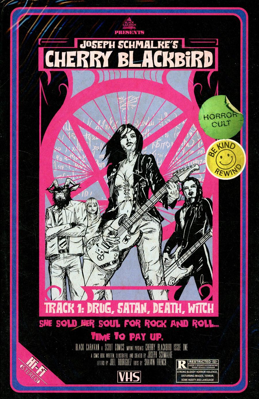 Cherry Blackbird #1 Cover B Secret VHS Variant With Polybag (Limit 1 Per Customer)