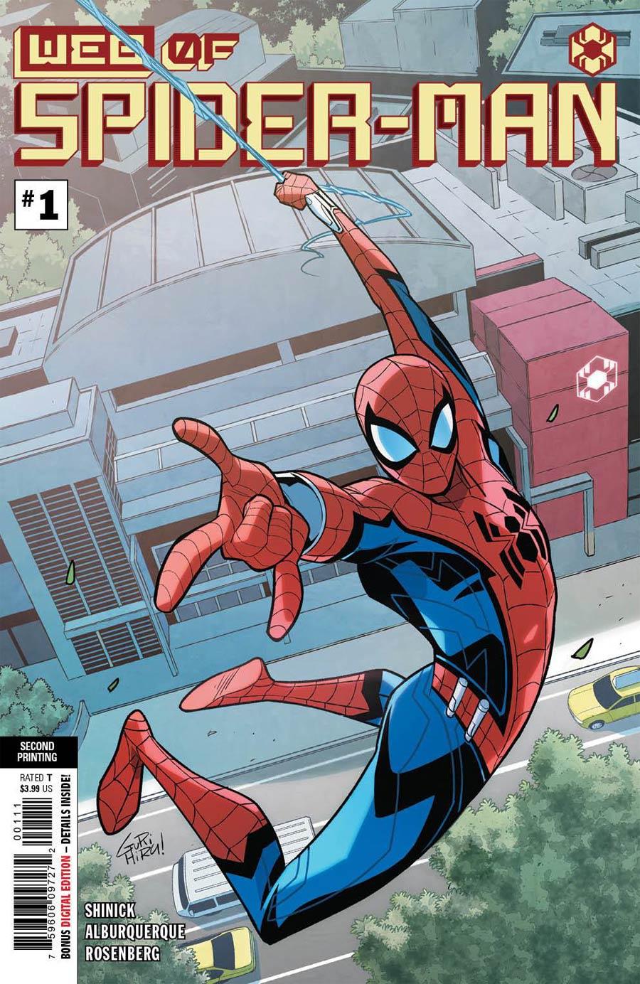 W.E.B. Of Spider-Man #1 Cover D 2nd Ptg Gurihiru Variant Cover