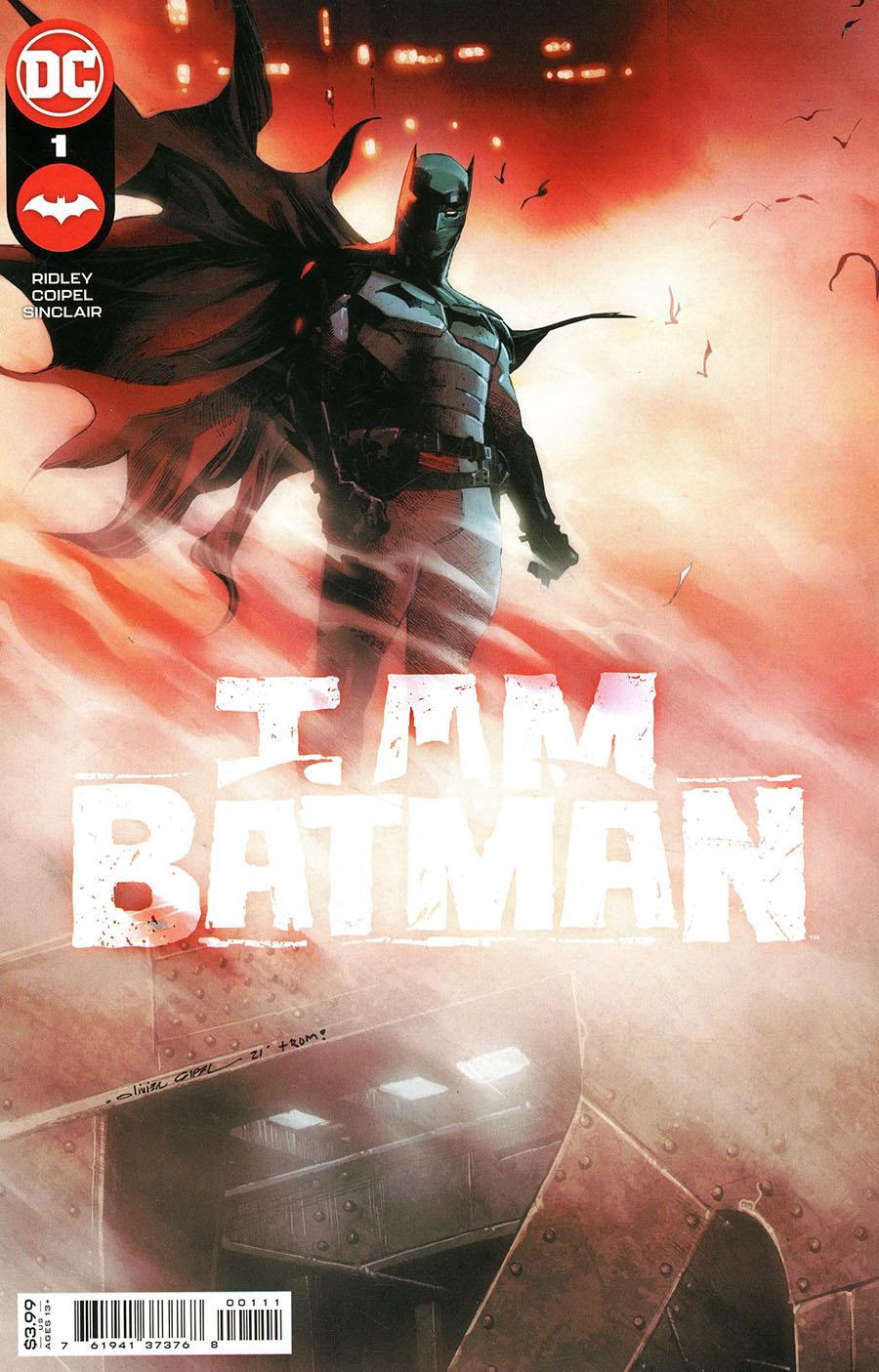 I Am Batman #1 Cover A Regular Olivier Coipel Cover