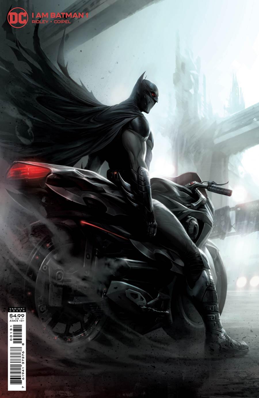 I Am Batman #1 Cover C Variant Francesco Mattina Card Stock Cover