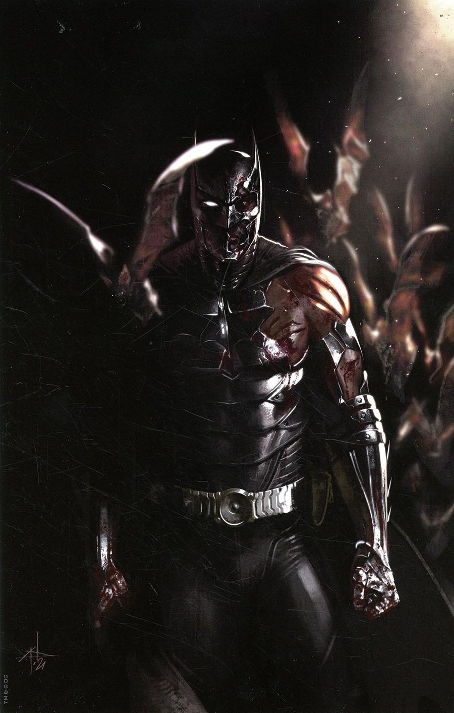 I Am Batman #1 Cover D Variant Gabriele Dell Otto Team Card Stock Cover