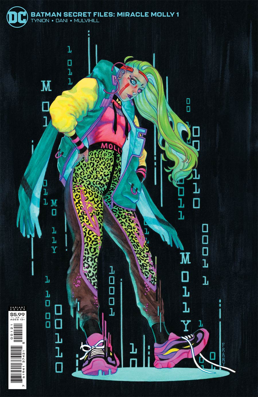Batman Secret Files Miracle Molly #1 (One Shot) Cover B Variant Justine Frany Card Stock Cover (Fear State Tie-In)