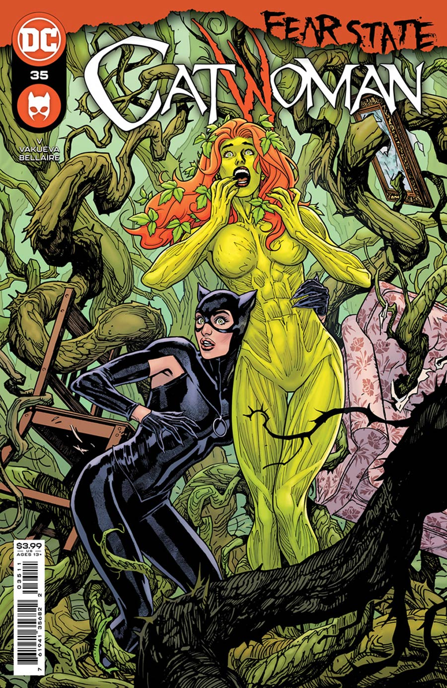 Catwoman Vol 5 #35 Cover A Regular Yanick Paquette Cover (Fear State Tie-In)