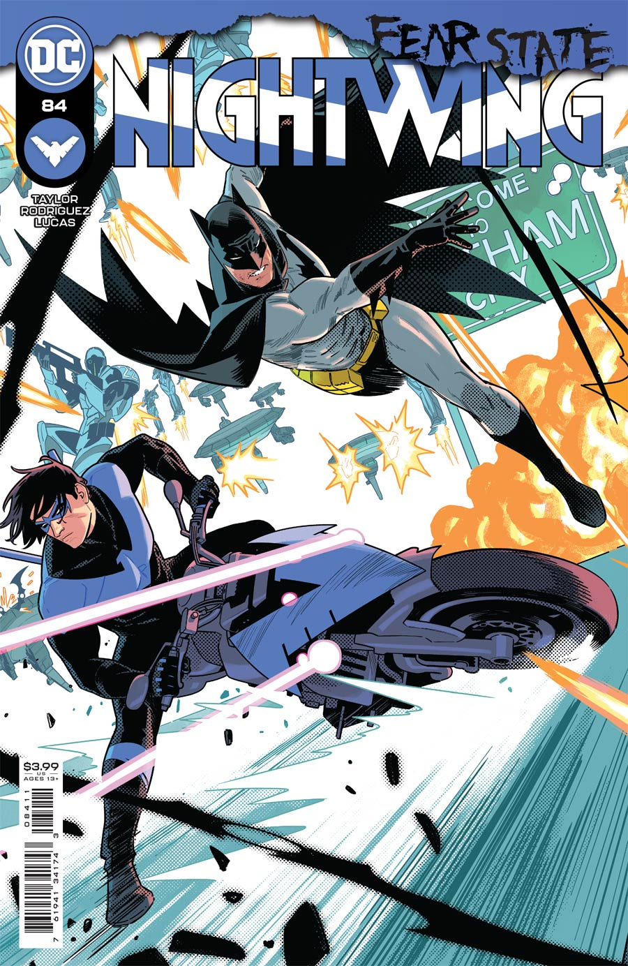 Nightwing Vol 4 #84 Cover A Regular Bruno Redondo Cover (Fear State Tie-In)