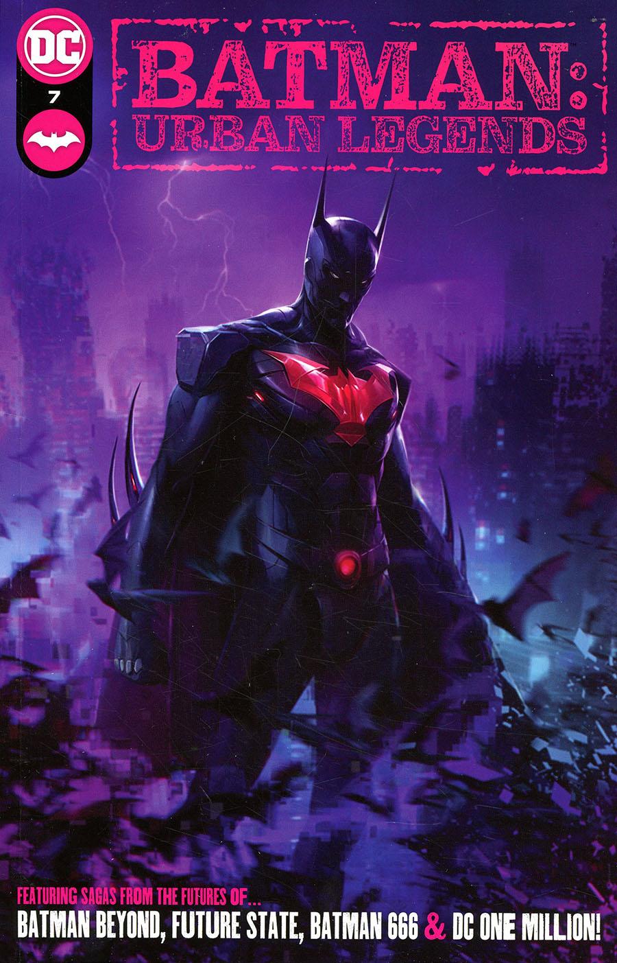 Batman Urban Legends #7 Cover A Regular Francesco Mattina Cover