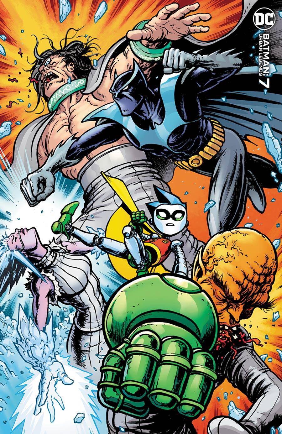 Batman Urban Legends #7 Cover B Variant Chris Burnham Cover