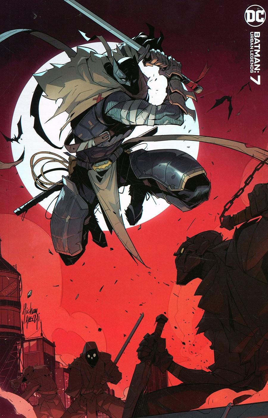 Batman Urban Legends #7 Cover C Variant Hicham Habchi Cover