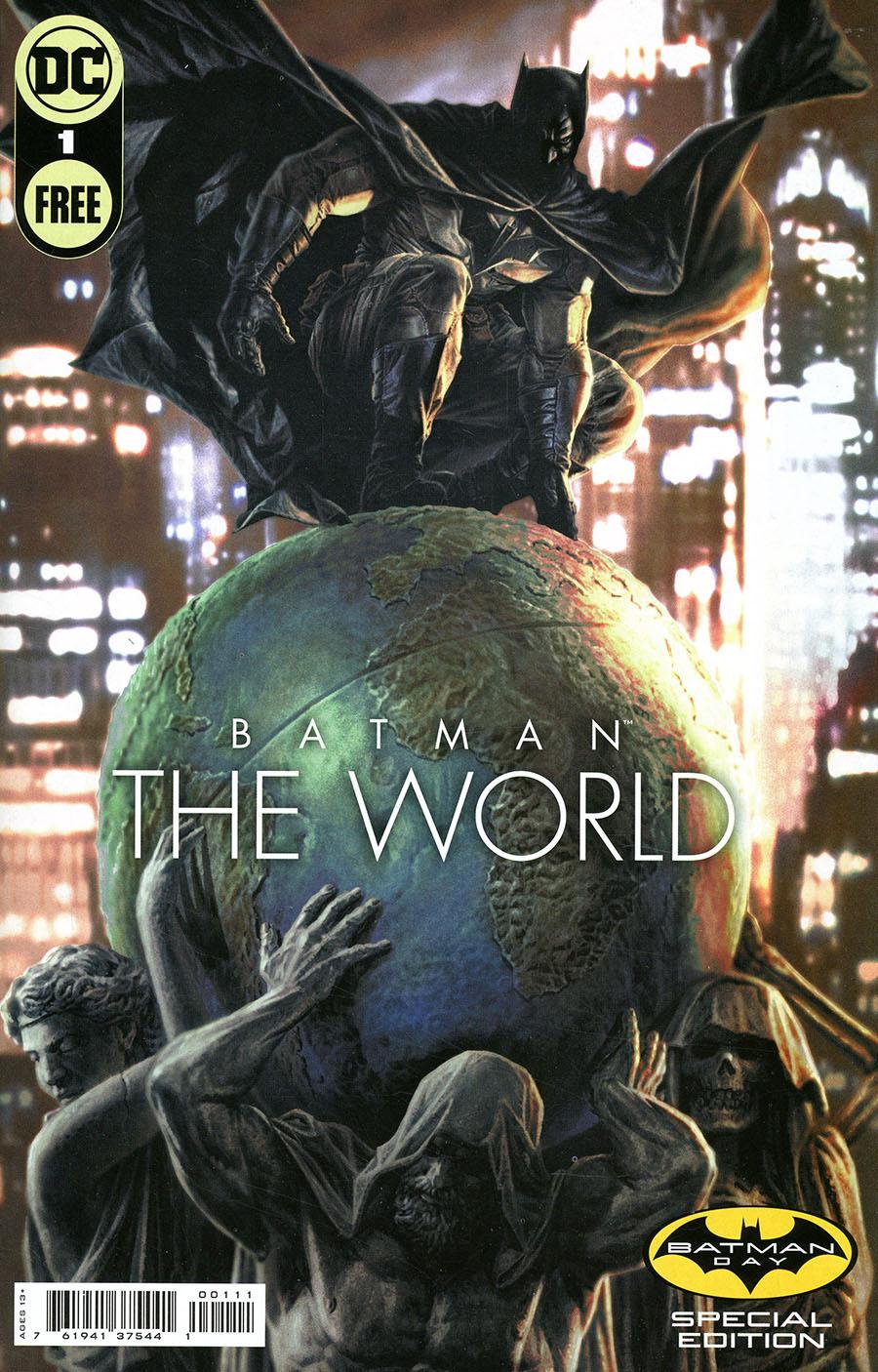 Batman The World Batman Day Special Edition #1 - FREE - Limit 1 Per Customer
