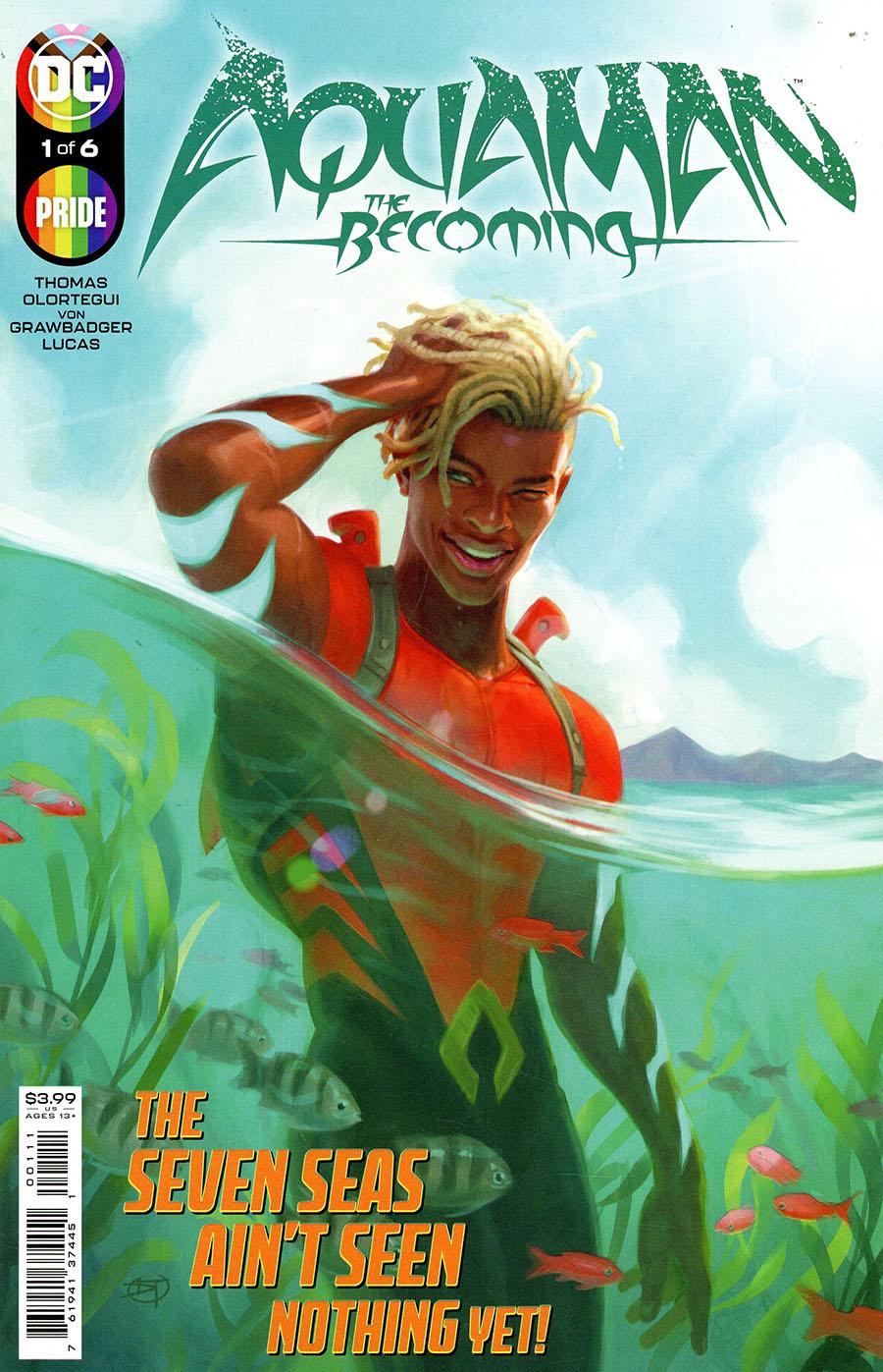 Aquaman The Becoming #1 Cover A Regular David Talaski Cover