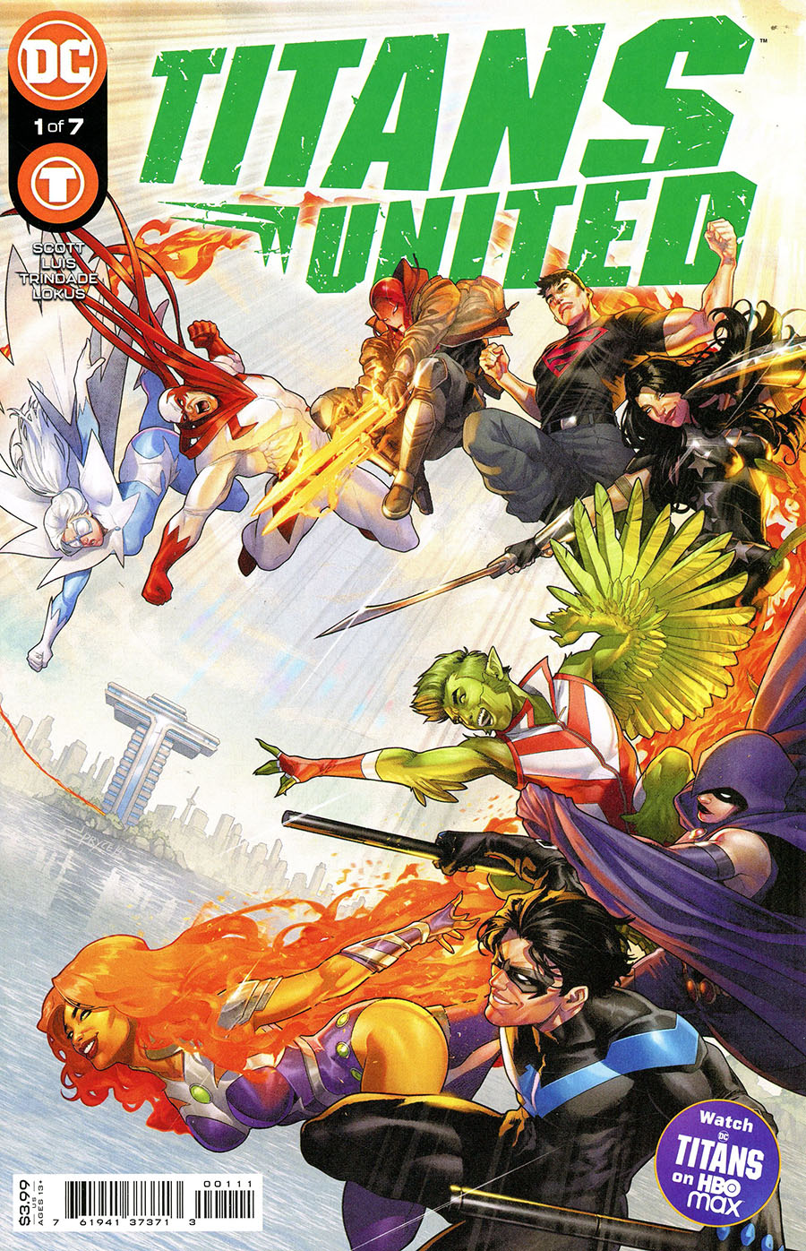 Titans United #1 Cover A Regular Jamal Campbell Cover