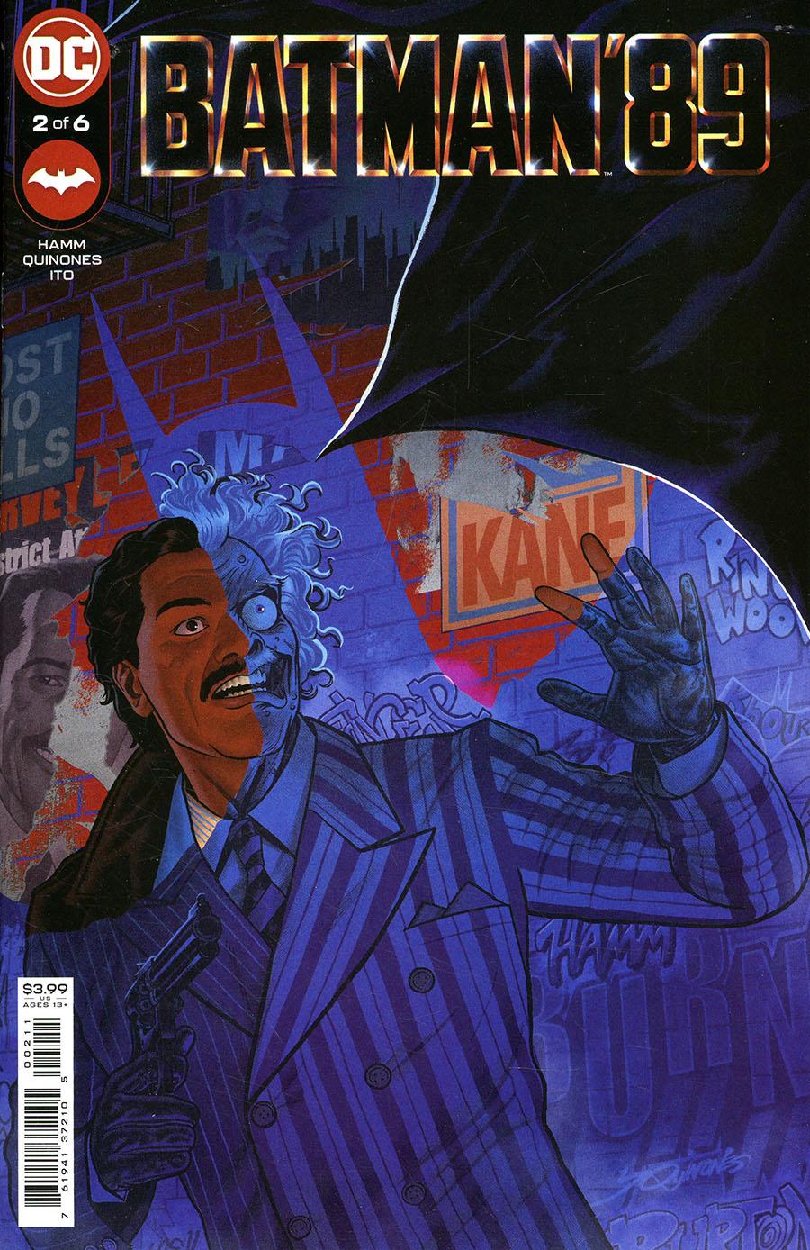 Batman 89 #2 Cover A Regular Joe Quinones Cover