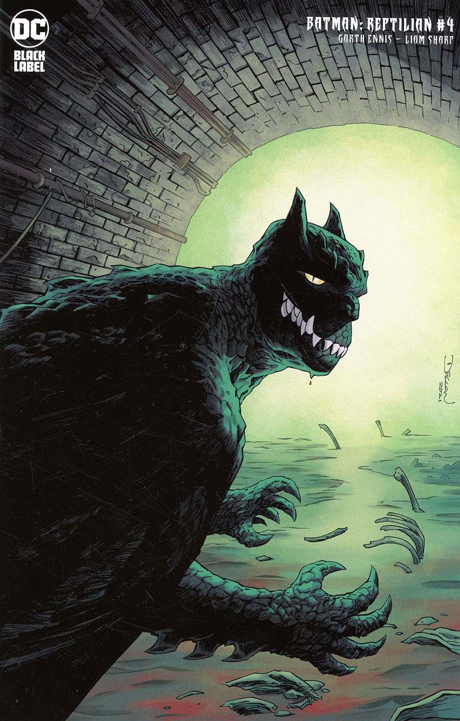 Batman Reptilian #4 Cover C Incentive Declan Shalvey Variant Cover